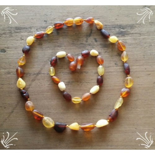 Baltic amber colours
